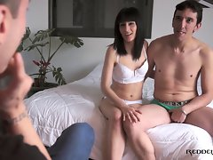 Gorgeous dark haired with natural body loves dick - Reddevilx