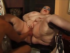 Eros & Music - Big beautiful woman Granny Fisted