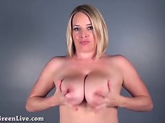Maggie Green Plays With Her Narrow Asshole!