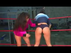 Bare Naughty ass Wrestling