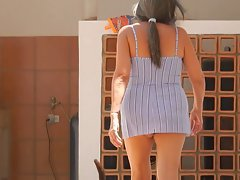 upskirt attractive mature 2