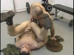 Army Cadet Punished by Sargent