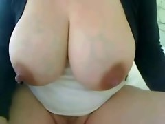 my breasts leaking milk spontaneously when I masturbate