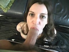 Vintage Amateur Bushy Lass Cecilia Licks Penis And Shags Point of view