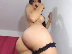 nice looking latin transsexual big butt Cam 4