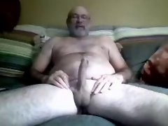 Shaggy Dad's Huge pecker