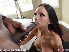 Lexington Steele stuffs Graceful White Nympho