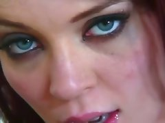 Wild Filthy Redhead Vixen Loves Extremely big cock And Screws It Wild