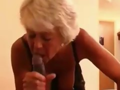 Experienced - Granny with ebony lad