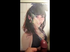 Cumtribute for Sensual japanese idol Mayu Watanabe