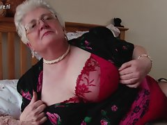 Perfect big granny with big chest