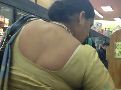 sexual marwadi aunty bra strip
