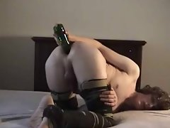 young man banged by a bottle -bymonique
