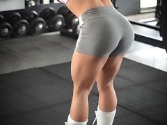 My god!!! fitness lewd Butt attractive body