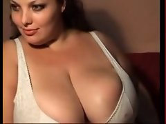 Thick Plump Gal with Huge Knockers