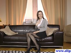 Posh euro venus rips stockings for oldvsyoung fuck