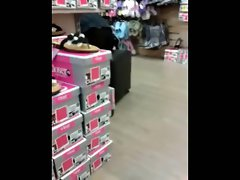 Thong at shoes store