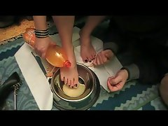 Disgusting Trials for a Disgusting Slave (foot domination)
