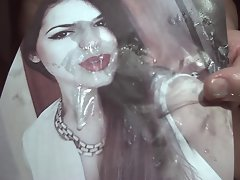 Tribute for therudebuy - huge facial for a so lewd cutie