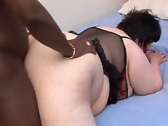 Obese Interracial Models a perfect screamer