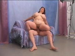 Bushy attractive mature Big beautiful woman find enjoyment in a nice fuck