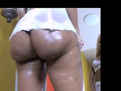 Big naughty bum slutty ebony tease