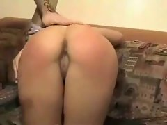 two females dirty ass spanked and banged
