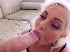 Unbelievable monster facial cumshot with Jenna Ivory