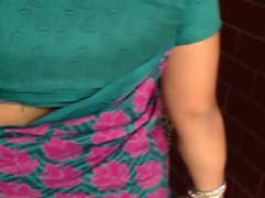 sexual nepali aunty walking (jiggly ass) part - 2
