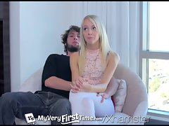 MyVeryFirstTime - Sierra Nevadah tries backdoor with boy