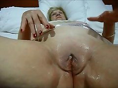 Granny still loves to play with her vagina and give blow jobs