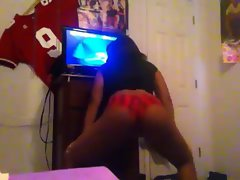 naughty ebony seductive teen twerkin