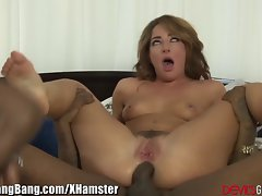 DevilsGangbangs DP'd SQUIRTing Bitch loves BBC's