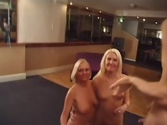 two blond slags