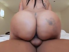 Awesome phat butt banged