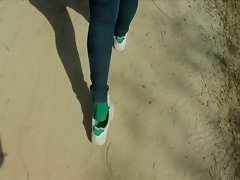 DVS green sock shoeplay preview