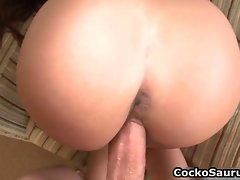 Big assed dark haired whore grinded rough free video