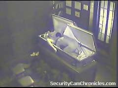 Caught On Security Camera Screwing