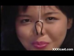 Nose Clamped Asian