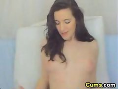 Sensual and lewd slutty girl finger banging