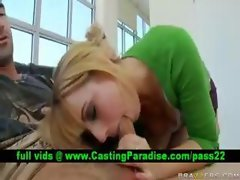 Lexi Belle, excellent tempting blonde fellatio