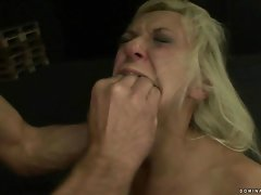 Slavegirl being painfully punished bdsm
