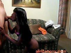 Nigerian soccer fan Brandy sex and face shagged