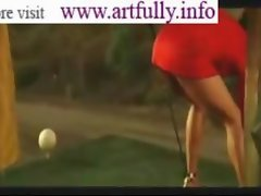 Halle Berry Luscious Golf tips