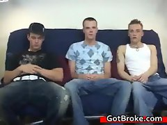 Austin, ryan, dustin broke crazy threesome action clip