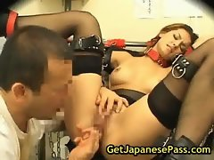 Maria ozawa gets bound and humiliate