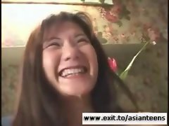 Huge facial for Asian Luscious teen bombshell