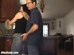 Mina Gorey Amateur Fuck In The Kitchen