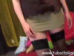 Teresa Italian Amateur Slutty wife Moglie Italiana