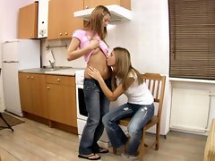 Alla and Natalia lovely Russians lesbos
